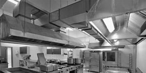 Sistemi di estrazione dei fumi nelle cucine