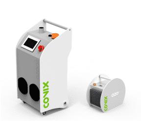 gamma di generatori di ozono Covix comprende ozonizzatori portatili e generatori di ozono industriali.